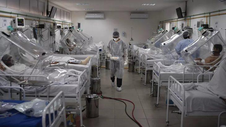 Entre os casos confirmados de Covid-19 no Amazonas, há 327 pacientes internados. (Divulgação)