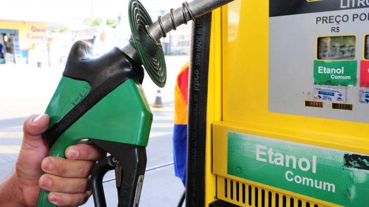 Dados sobre o preço do etanol nas capitais foram divulgados pela ANP. (Divulgação)