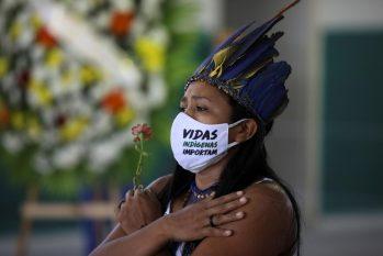 Noves estados que compõem Amazônia Legal concentram 73% dos casos confirmados entre etnia brasileiras, com 125 povos atingidos e 579 óbitos. (Divulgação/Internet)