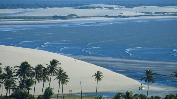 Praia de Jijoca de Jericoacoara do Ceará - (Foto: Ricardo Rollo)