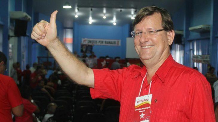 José Ricardo sempre foi o favorito do Diretório Nacional do PT para a disputa pela Prefeitura de Manaus (Divulgação)