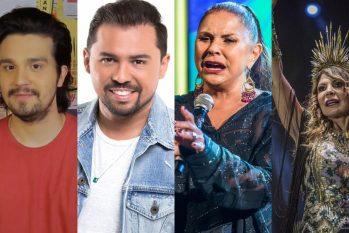Luan Santana, Xand Avião, Fafá de Belém e Elba Ramalho são algumas das atrações para curtir do conforto de casa. (Reprodução/Internet)