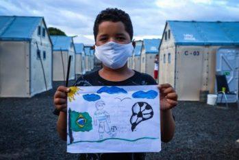 """Ao longo desta semana, as crianças participaram do concurso artístico """"Meu Futuro no Brasil"""