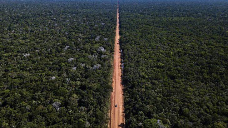 A pavimentação da BR-319, além de ligar as capitais de Manaus e Porto Velho, terá um impacto econômico extremamente positivo para a região Norte. (Divulgação/Agência Brasil)