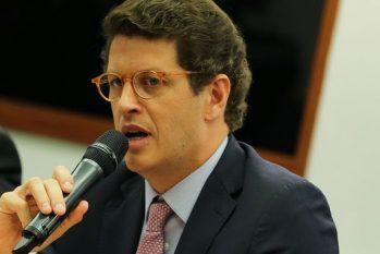Salles responde, desde julho, a ação de improbidade administrativa (Divulgação)