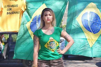 A ativista foi presa pela Polícia Federal na segunda-feira, 15, por determinação de Moraes no inquérito que apura atos antidemocráticos (Divulgação)