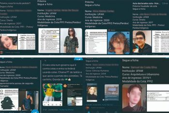 Conta com denúncias acabou sendo excluída pela plataforma. Ufam investiga supostos crimes. (reprodução/Twitter)