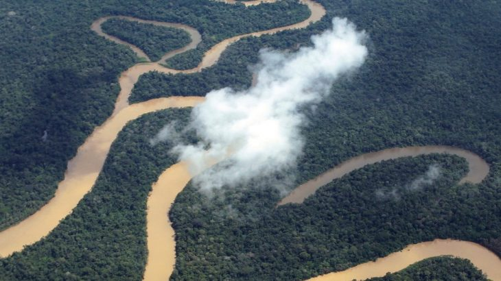 O rio é o único da região amazônica que drena territórios da Colômbia, Equador, Peru e Brasil. (Ricardo Oliveira/ Sema)