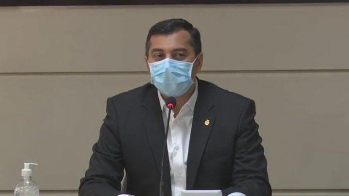 Governador Wilson Lima decretou ponto facultativo para esta sexta-feira. (Reprodução)