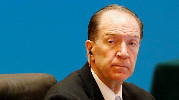 Presidente do Banco Mundial, David Malpass, pede que dívidas de países pobres sejam renegociadas (Florence Lo/Reuters)