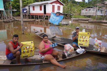 Comunidades da zona urbana da capital amazonense e da região metropolitana, receberão ajuda de entidades e instituições voluntárias, reunidas no 'Aliança Covid' (Reprodução/FAS)