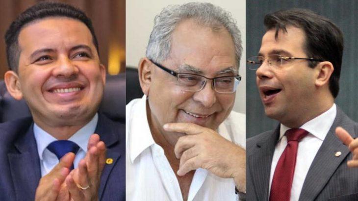 Delegado Péricles, Amazonino Mendes e Wilker Barreto: os interesses políticos e eleitorais por trás da CPI da Saúde (Reprodução)