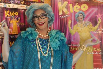 Intitulado 'Segeam com Você', programa é apresentado pela Tia Kléo, personagem criada pelo ator Augusto Lux. (Divulgação)