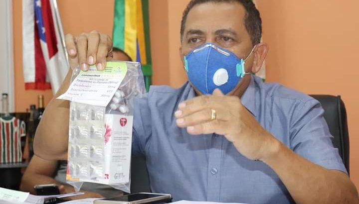 Prefeito Anderson Souza disse que as marmitex serão para os servidores da saúde contratados durante a pandemia. (Divulgação)