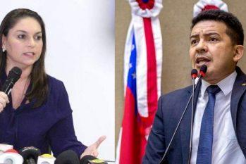 Daniela Assayag rebateu informação falsa de deputado Péricles de que o marido dela é oficialmente dono da empresa que intermediou a compra de respiradores para Susam (Reprodução/Internet)