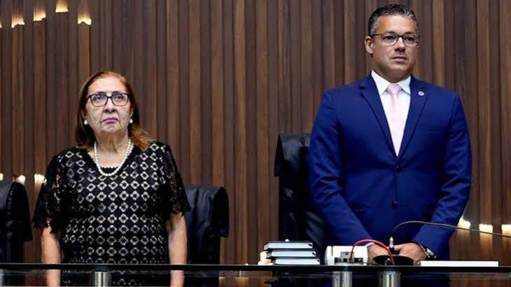 Desembargadora Joana Meirelles, do TJAM, suspendeu a tentativa de dar continuidade à CPI da Educação, proposta pelo presidente da ALE/AM, deputado Josué Neto. (TJAM/ divulgação)