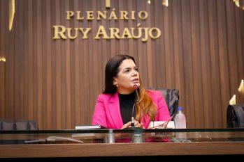 Pedido que solicita anulação da escolha dos membros da Comissão Especial (CE) é considerado deficiente pela presidente Alessandra Campelo. (Divulgação/ALE-AM)