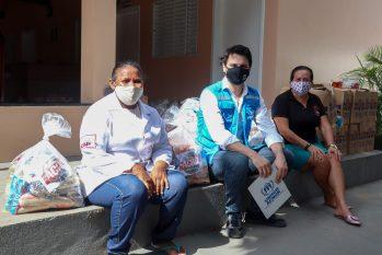 5 mil cestas de alimentos são doadas para venezuelanos em Manaus
