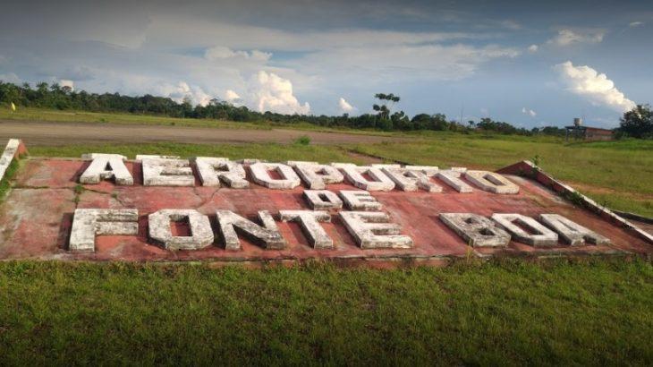 Ramal de acesso ao Aeroporto de Fonte Boa vai receber pavimentação milionária (Reprodução)