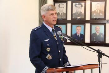Major brigadeiro José Hugo Volkmer estava à frente do Censipam desde julho do ano passado (Divulgação)