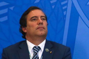 Pedro Guimarães, afirma que quinta parcela será paga até fim de outubro (Antônio Cruz/Agência Brasil)