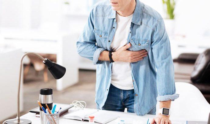 Síndrome é desencadeada por eventos estressantes e não por bloqueios na corrente sanguínea. (Reprodução/Internet)