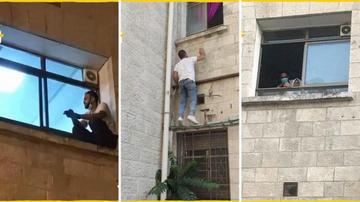 Senhora 73 anos, morreu enquanto filho a observava sentado na janela (Reprodução/Internet)