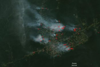 Satélite da Nasa detecta avanço anual de queimadas em Apuí, no Amazonas