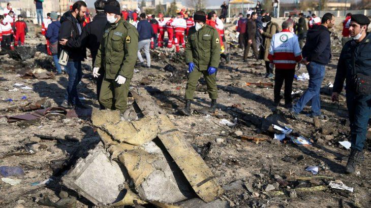 Queda de avião matou, em janeiro, as 176 pessoas a bordo (© WANA NEWS AGENCY)