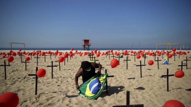 Brasil registrou 100.240 mortos em decorrência de Covid-19. (Marcelo Camargo/ Agência Brasil)