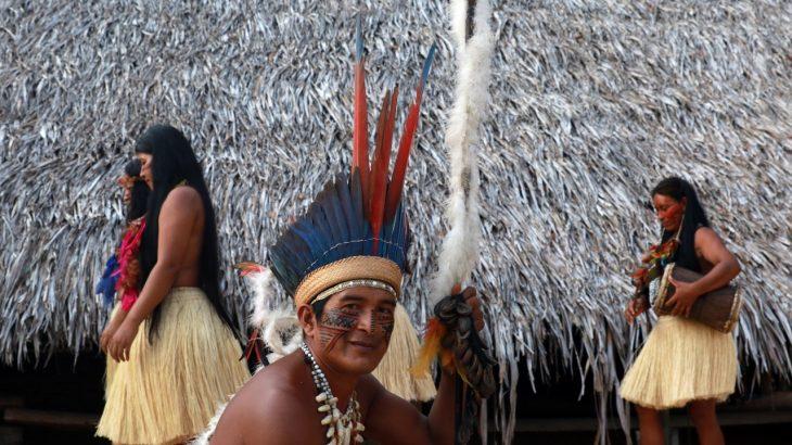 Líder espiritual, pajé Diákuru Dessana, cultiva a tradição herdada dos antepassados. (Ricardo Oliveira/ Revista Cenarium)