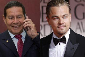 Vice-presidente da República convidou o ator para conhecer