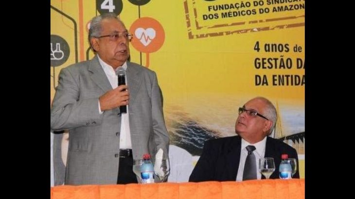 O médico também é sócio de empresa que faturou quase R$ 100 milhões na Susam, durante o governo de Amazonino Mendes. (Reprodução/Internet)
