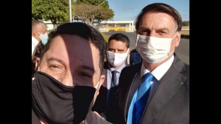 O delegado Rafael Costa e Silva é aliado do pré-candidato a prefeito de Manaus, coronel Alfredo Menezes, e divulgava que iria concorrer a vereador este ano (Reprodução/Facebook)