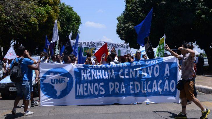 Atualmente, movimento busca reaproximação com juventude para luta estudantil (Reprodução/Agência Brasil)