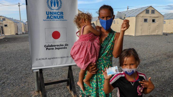 Em junho, mês contabilizou 812 novos registros de pessoas da Venezuela. (Lucas Ferreira/ACNUR)