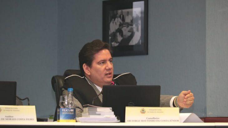 Conselheiro Ari Moutinho pediu que governo do Amazonas esclareça questões técnicas-orçamentárias ao TCE-AM (Reprodução/ internet)