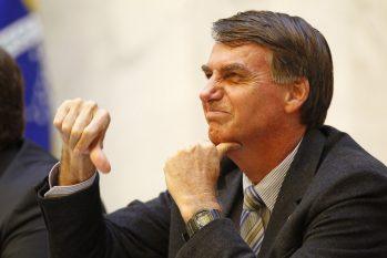 O presidente Jair Bolsonaro; PF investiga se Planalto financiou pessoas e sites ligados aos atos antidemocrátivos (Reprodução/ Internet)