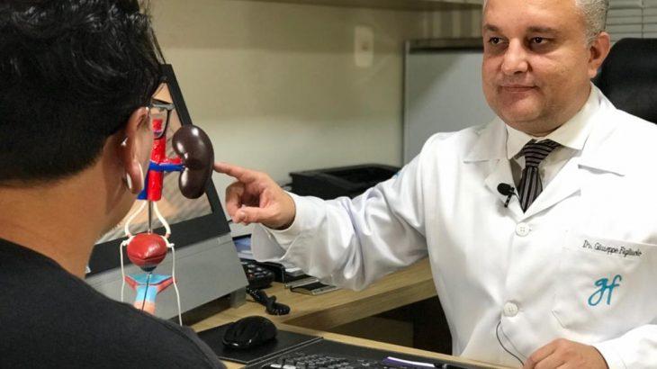 Entre os assuntos, estão as técnicas cirúrgicas para a preservação do órgão e da função sexual masculina, explica o cirurgião urologista da Urocentro Manaus, Giuseppe Figliuol (Divulgação)