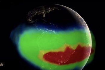 Anomalia Magnética da América do Sul é pequena, mas está crescendo, e pode afetar satélites e espaçonaves (Nasa)