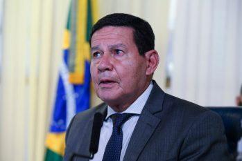 O vice-presidente Hamilton Mourão voltou a minimizar os incêndios na Amazônia. Foto: Reprodução/Internet