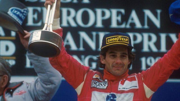 Ayrton Senna conquistou três títulos mundiais na Fórmula 1, todos com a McLaren (Reprodução/Internet)