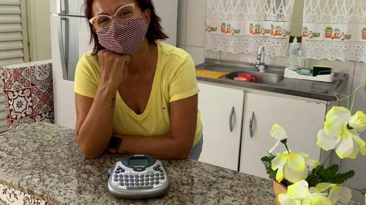 Karina Barros, presidente da Segeam e enfermeira do Lar Rosa Blaya (Divulgação)