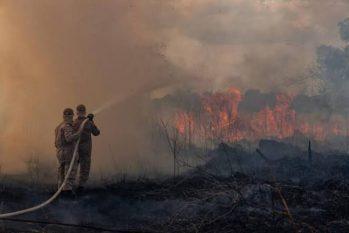 Inpe detectou mais de dez mil focos de queimada desde início do ano até dia 3 de setembro (Reprodução/ Twitter)
