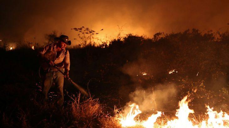 Governo reconhece situação de emergência em Mato Grosso devido a queimadas no Pantanal