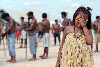 A Coiab enfatiza que a Constituição Federal de 1988, no Artigo 231, garante que os territórios indígenas são de ocupação tradicional e de usufruto exclusivo dos povos indígenas (Evaristo Seavaristo/ AFP)