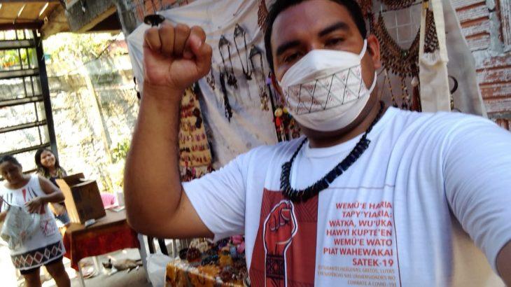 Rucian da Silva Vilacio, indígena da etnia Sateré-mawé, é universitário do curso de engenharia de produção da Universidade do Estado do Amazonas (UEA) (Arquivo Pessoal)