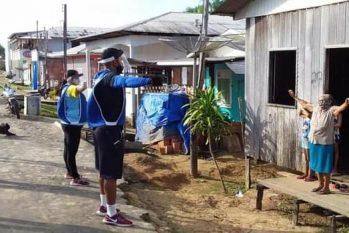 Confinamento obrigatório foi retomado após a curva de contaminação pelo novo Coronavírus voltar a crescer no município (Divulgação/Prefeitura de Carauari)