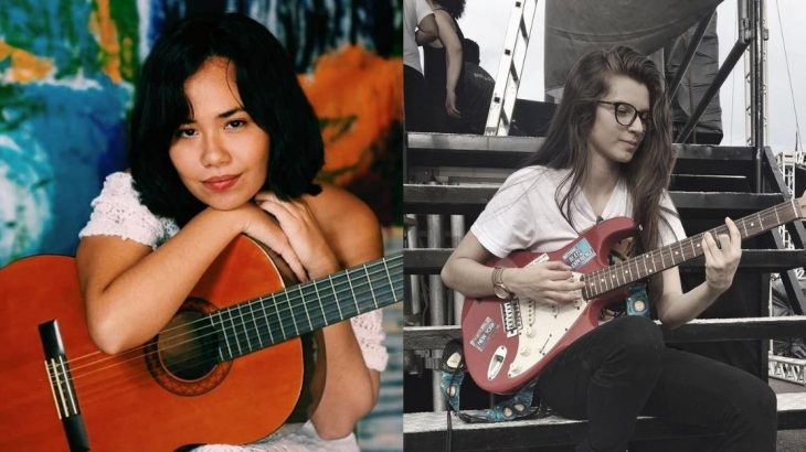 Gabi Farias e Julia Albook, duas boas promessas em ascensão na música nortista (Reprodução/Internet)