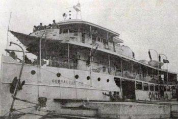 Ao menos 340 passageiros perderam suas vidas na embarcação que havia saído de Santarém com destino a Manaus, conduzindo 530 passageiros e 200 toneladas de carga pelo rio Amazonas, (Arquivo pessoal/Reprodução)